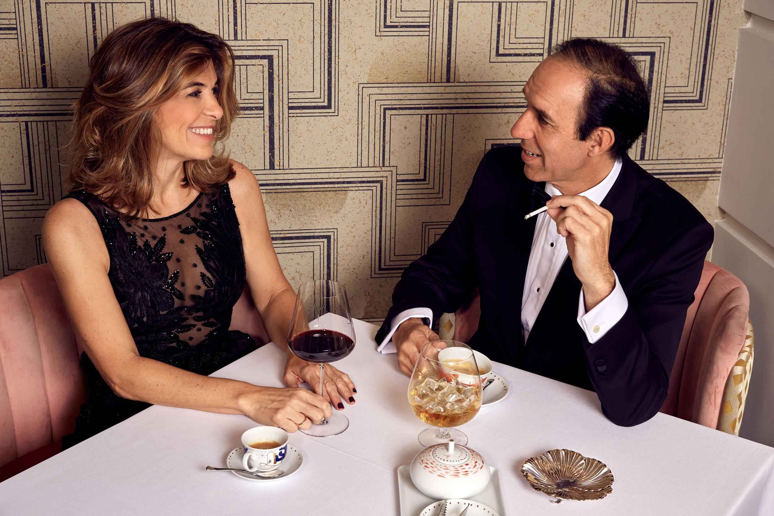 Xandra Falcó y Diego Sandoval. (Foto: Olga Moreno)