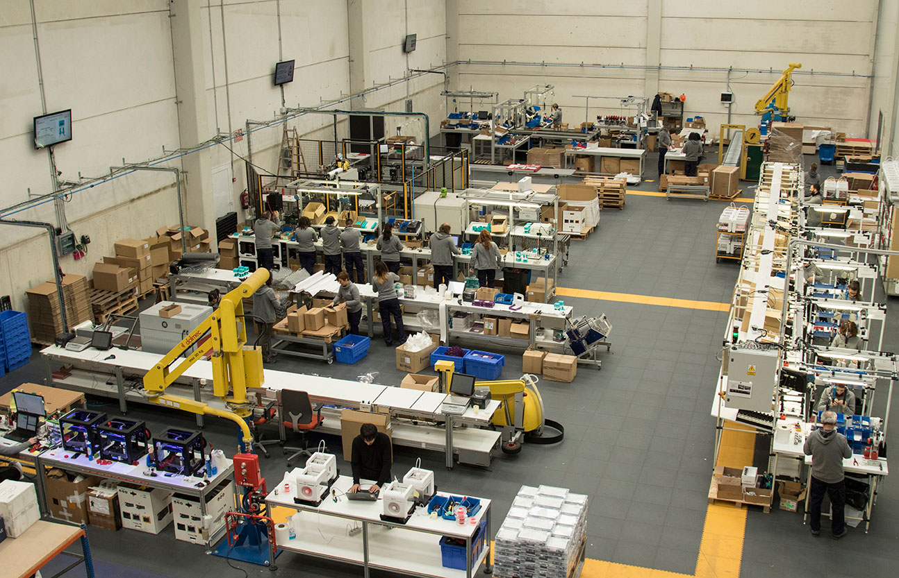 La fábrica española que vende tecnología a medio mundo