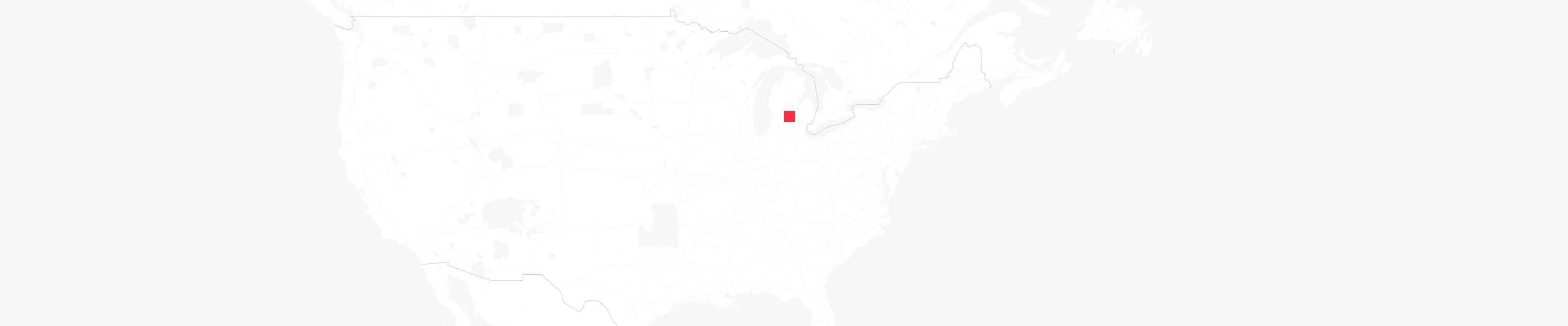 Mapa de Lansing