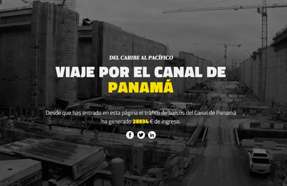 Viaje por el Canal de Panamá