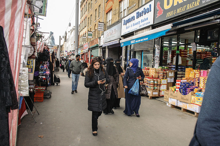 El 34% de la comunidad de Tower Hamlets es musulmana