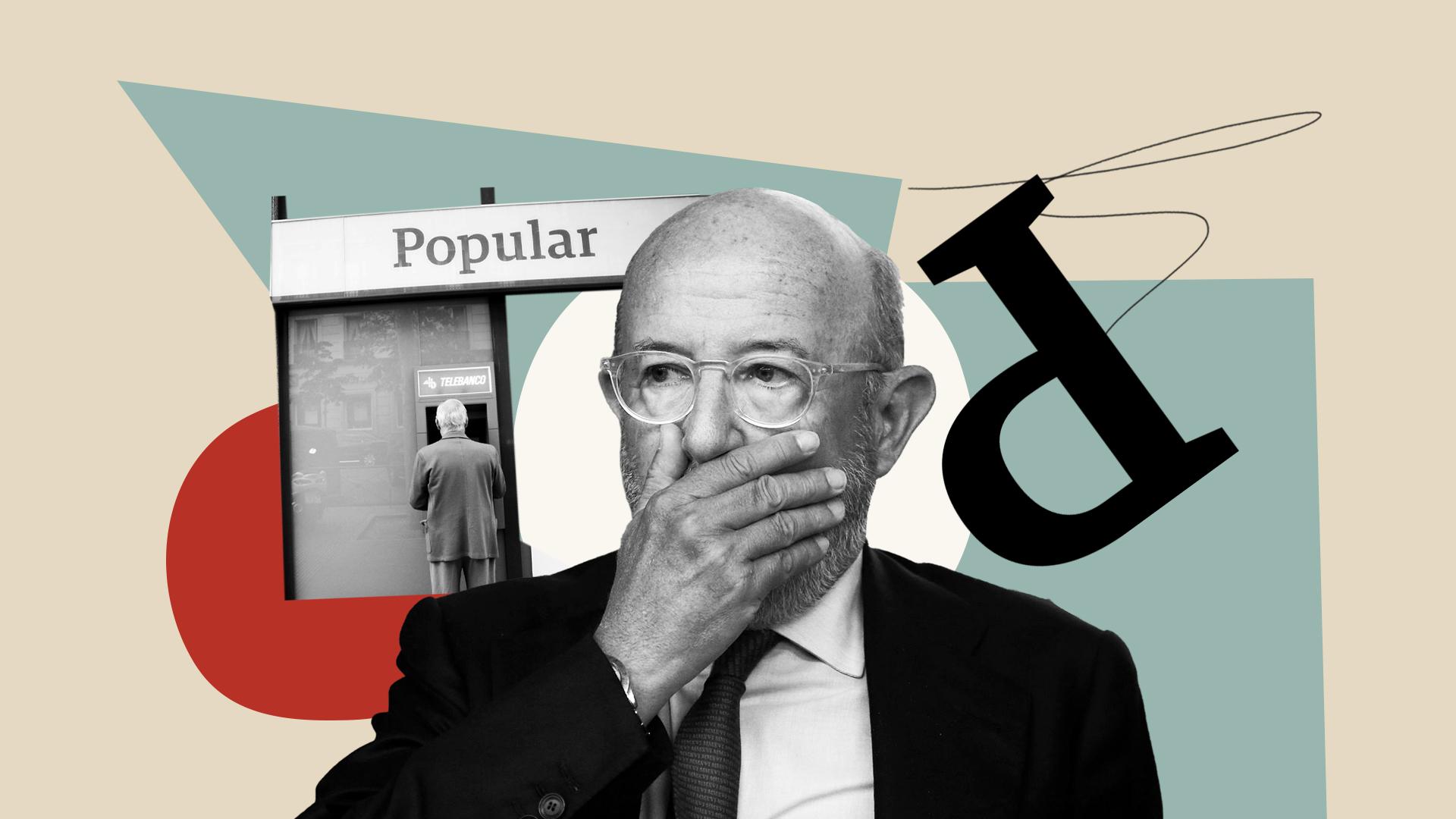 Ilustración sobre la caída del Banco Popular