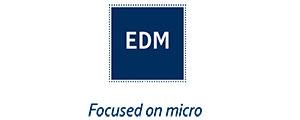 Logo de EDM