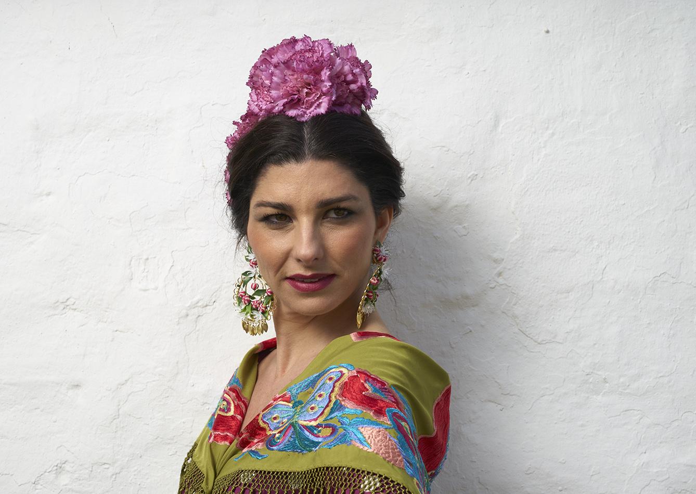 Rocío Peralta de frente