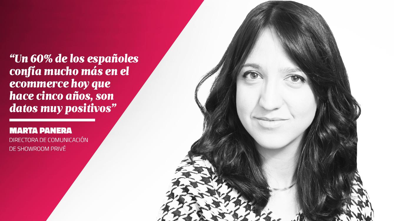 La opinión de Marta Panera - Directora de Comunicación de Showroom Privé