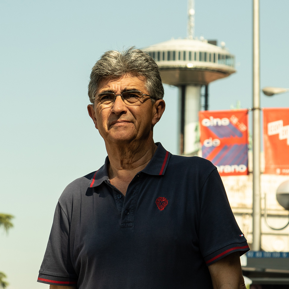 Javier Sopuerta llegó a Madrid hace 30 años desde Euskadi