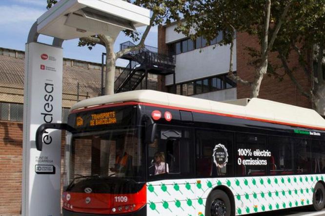 Transporte público electrificado