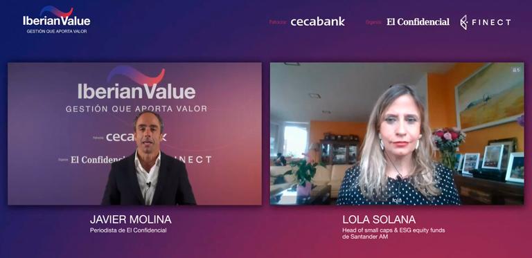 Javier Molina y Lola Solana