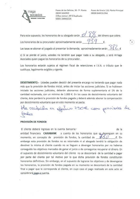 Noticias de bankia la rendici n de bankia en las demandas for Modelo demanda clausula suelo