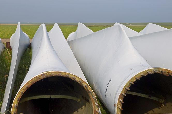 Palas de los aerogeneradores