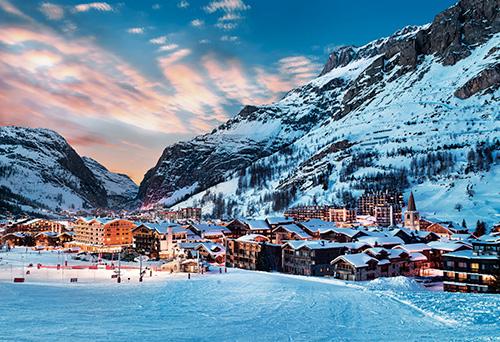 El corazón de los Alpes
