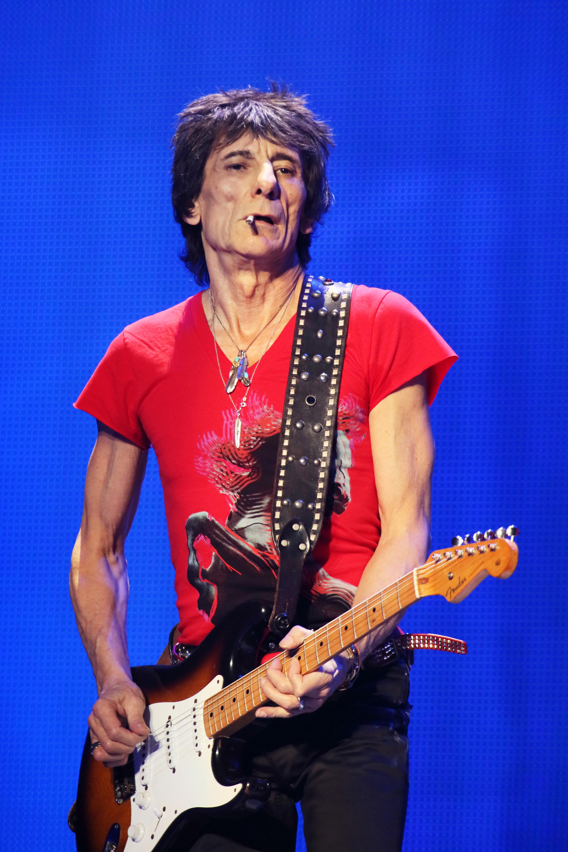 El guitarrista de los Rolling Stone, Ron Wood