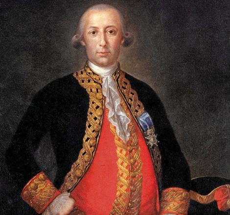 Bernardo de Gálvez.