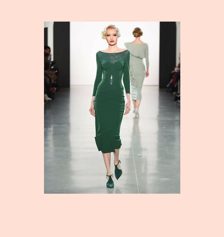Vestido de Chiara Boni. (Cortesía de la marca)