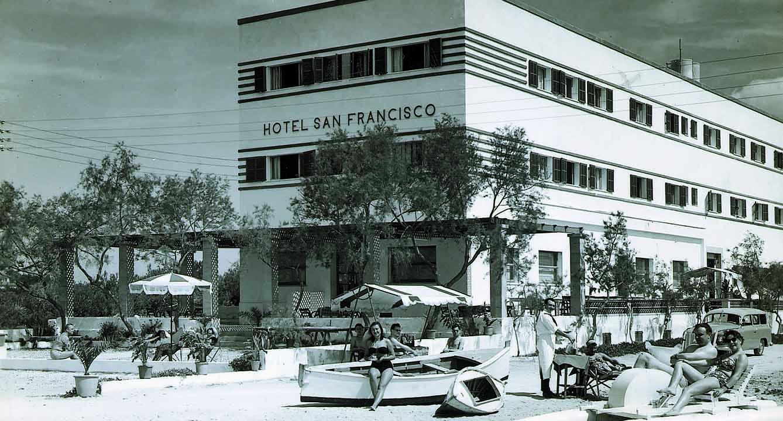 Hotel Riu San Francisco en los años cincuenta