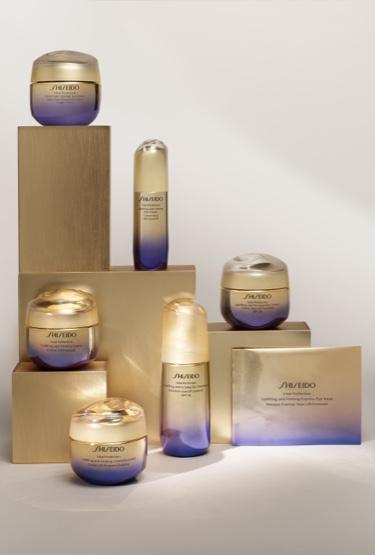 conjunto de botes de crema de Shiseido