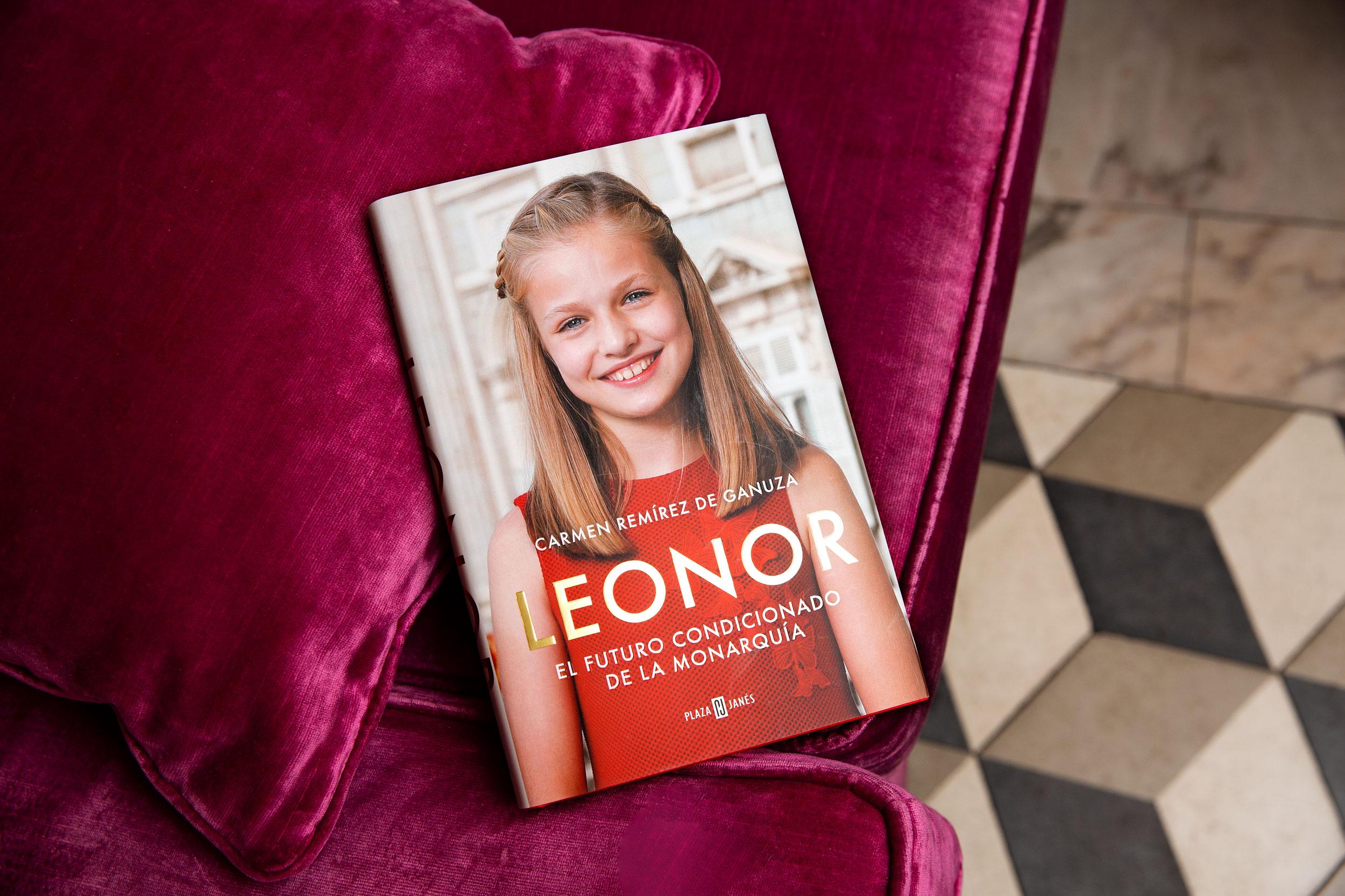 El libro de la princesa Leonor. (Olga Moreno)