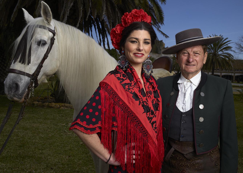 Rafael y Rocío Peralta