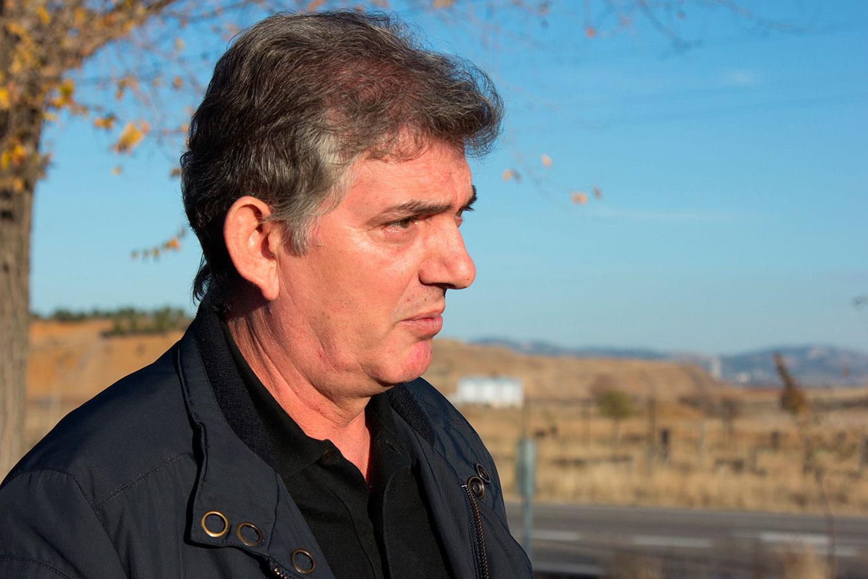 Fausto Fernández extrabajador de la central térmica de E.ON