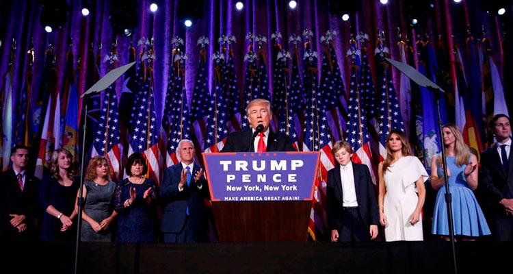 Un mundo en shock, un radical en la Casa Blanca