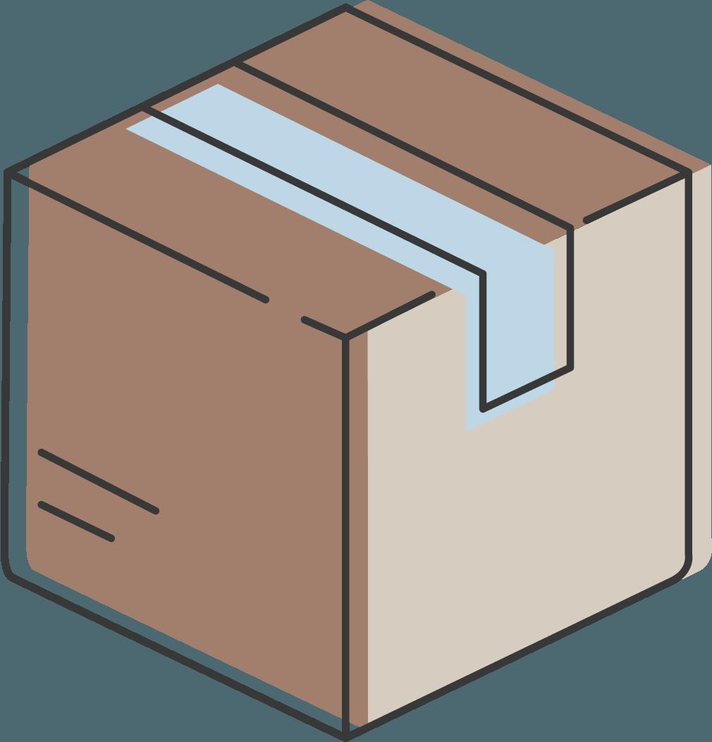 paquete de mensajería