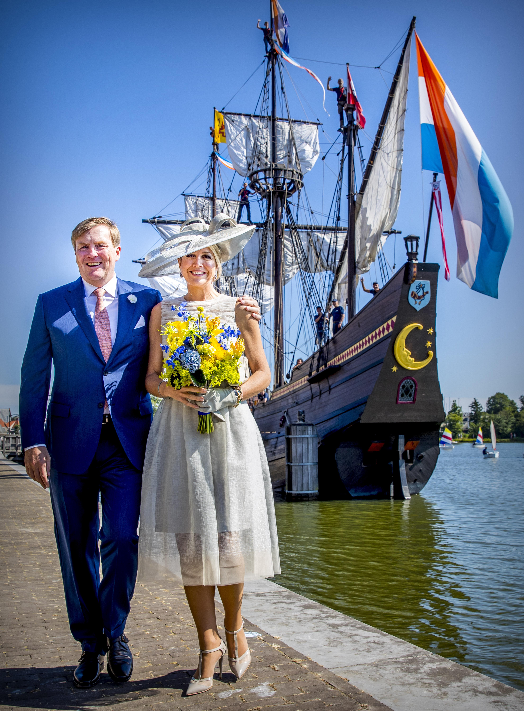 Los reyes de Holada, ¿vestidos de boda civil? (Gtres)