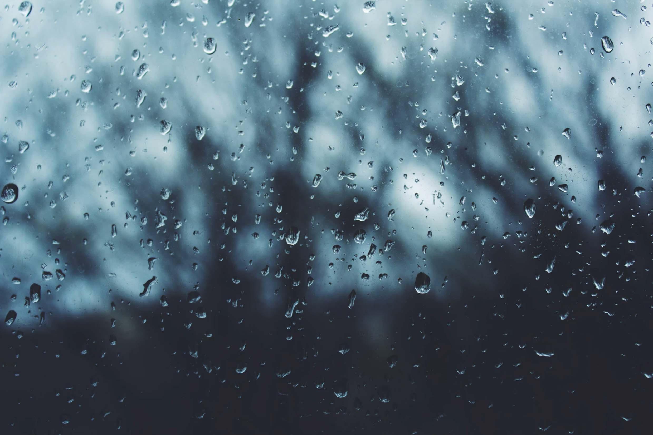 Textura lluvia