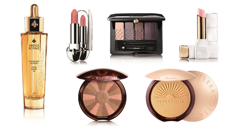 Productos que debes usar para replicar el maquillaje de Blanca Suárez. (Cortesía de Guerlain)
