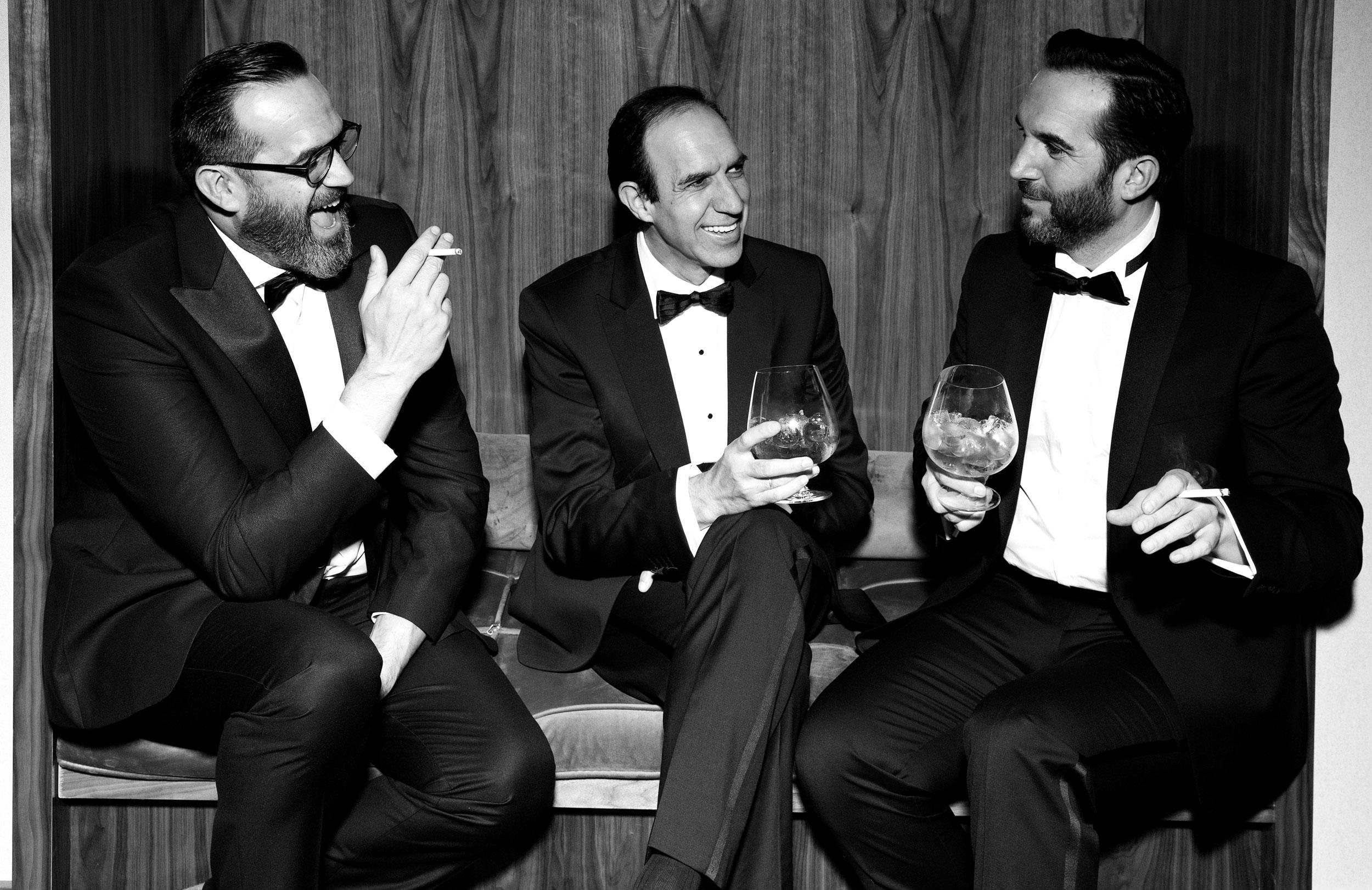 Rafael, Juan Diego y Mario Sandoval.   (Foto: Olga Moreno)