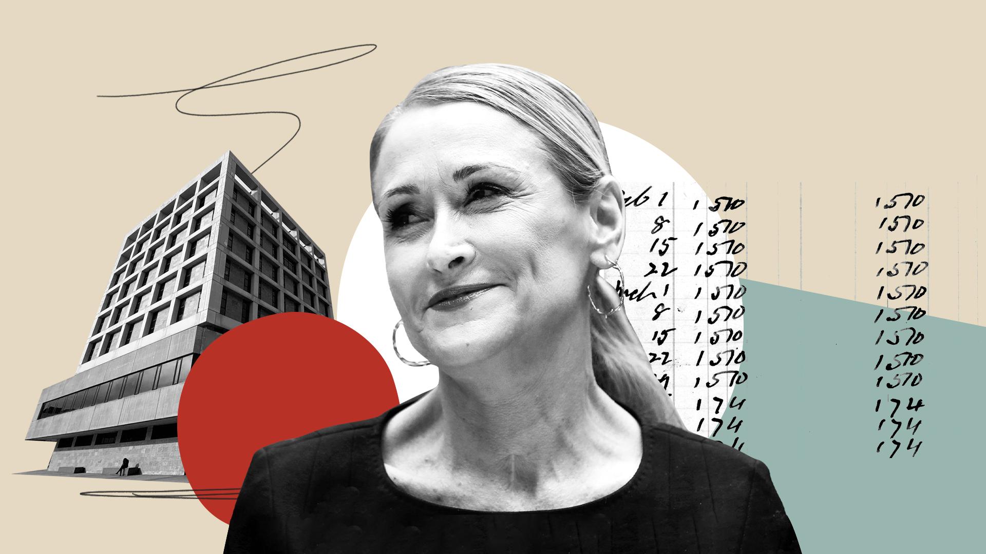 Ilustración con Cristina Cifuentes como protagonista