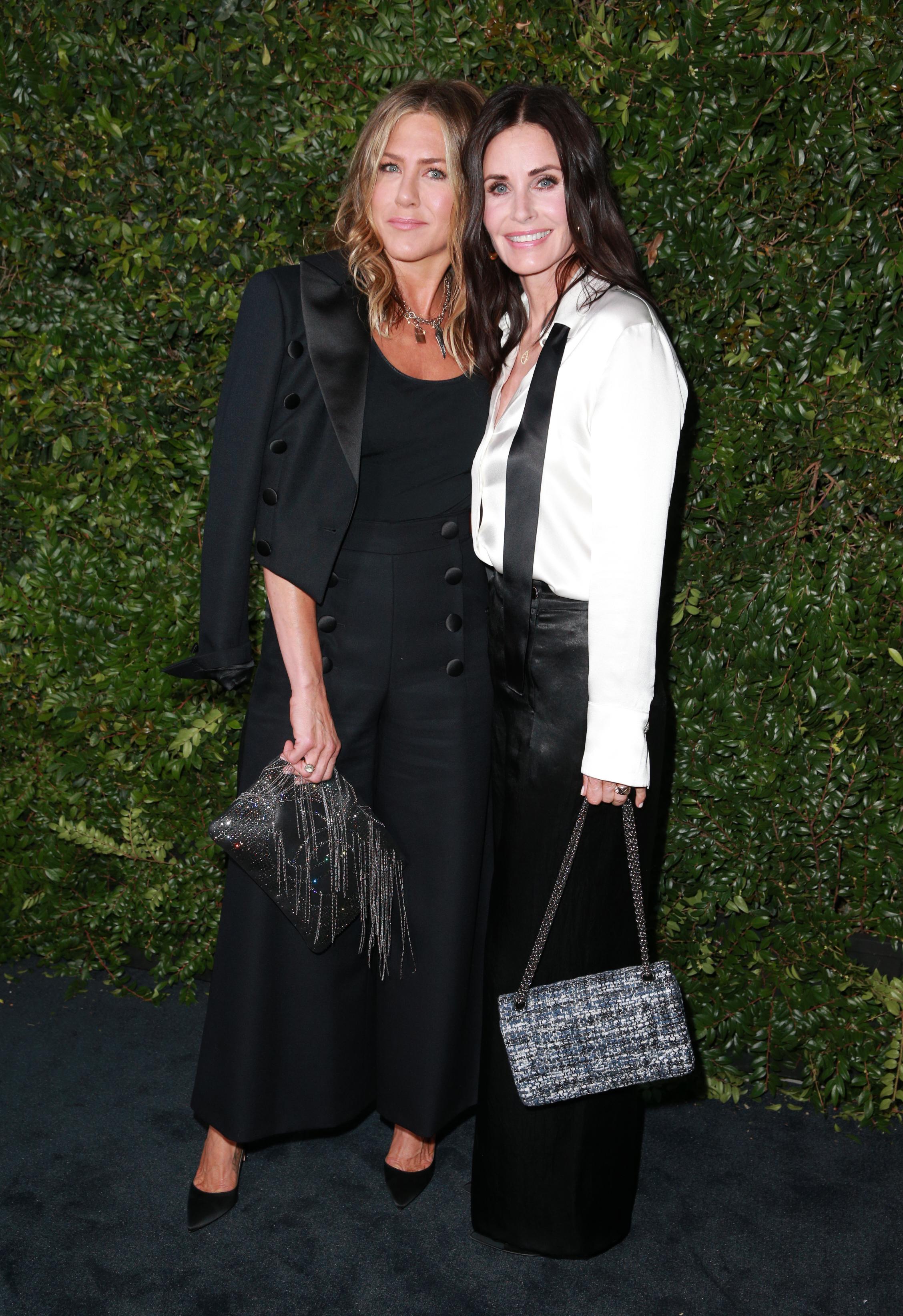 Jennifer Aniston y Courteney Cox.