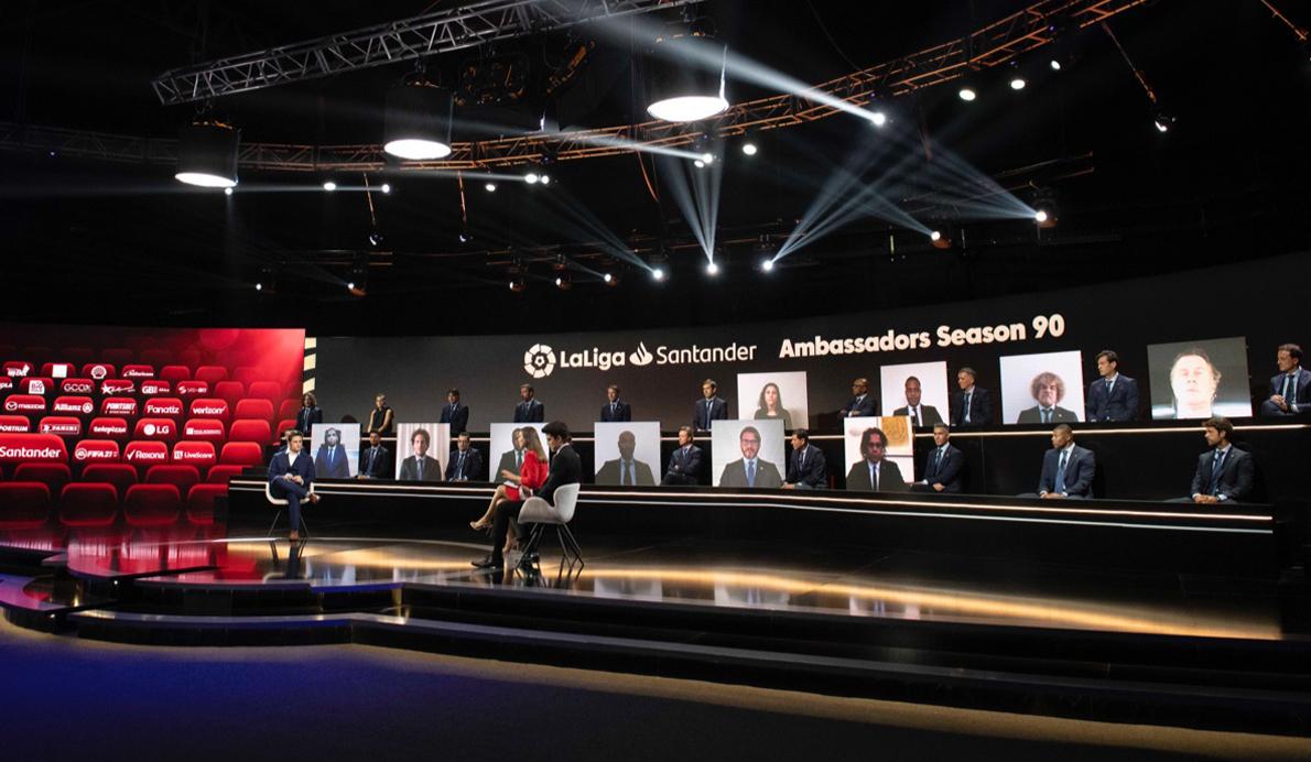 Gala embajadores 2020 con la presencia de los sponsors de LaLiga