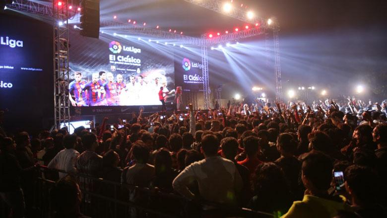 Actividades realizadas en anteriores temporadas en India, Colombia, Corea del Sur, Indonesia y México con motivo de la celebración de ElClásico
