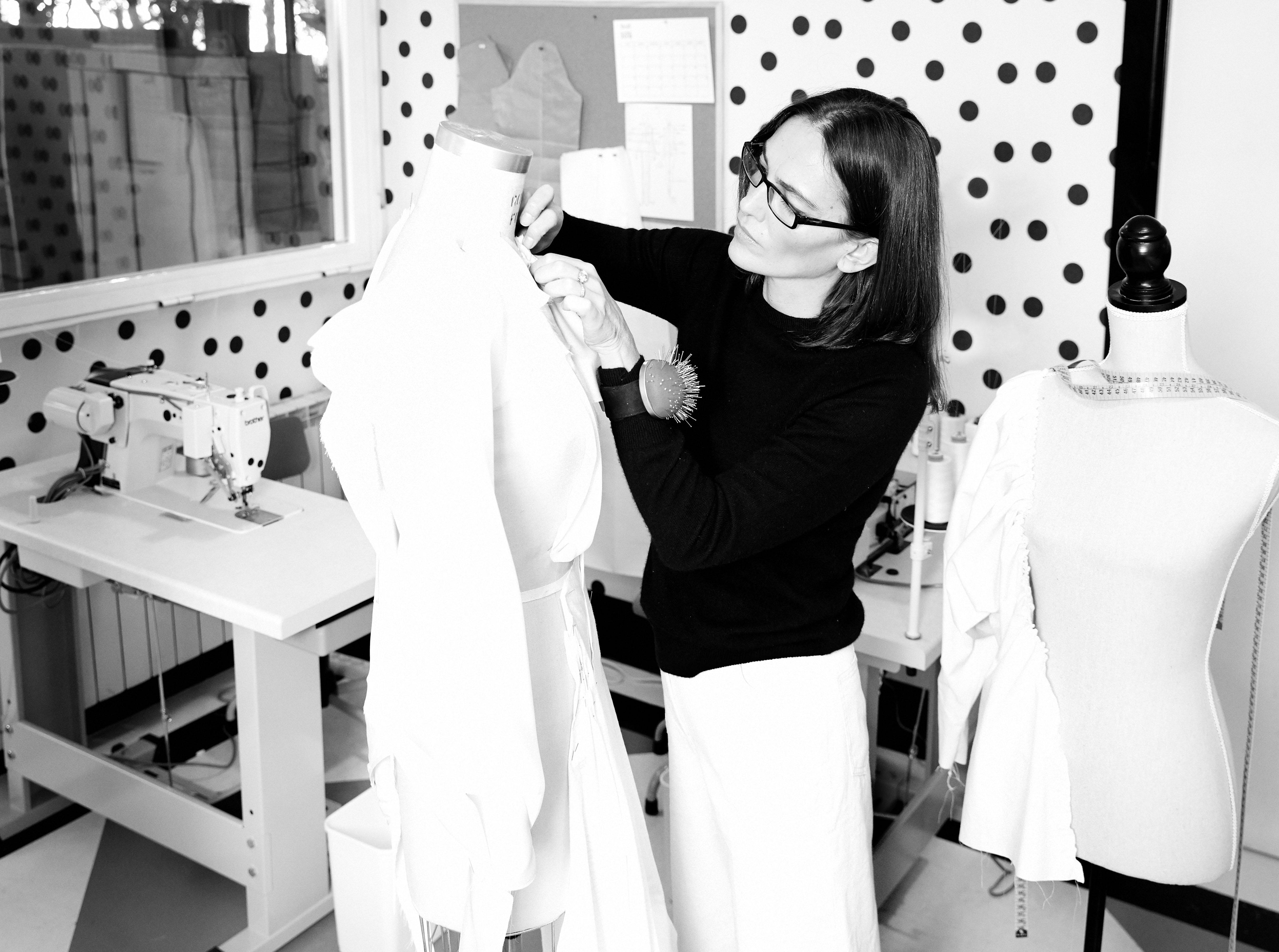 Laura Ponte lleva jersey de Zara y pantalón de Uterqüe. (Olga Moreno)
