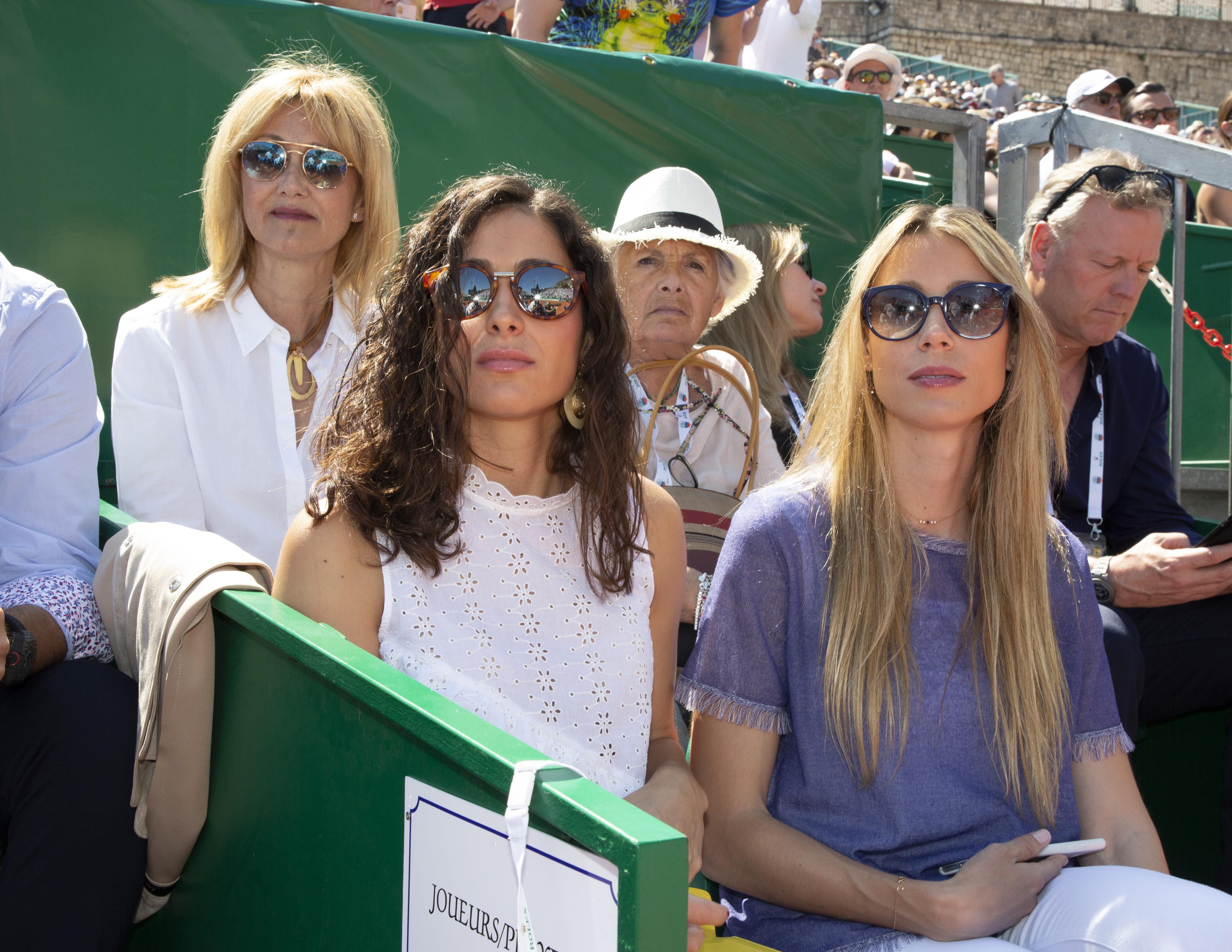 Mery Perelló y Maribel Nadal en la final del torneo de Montecarlo. (Gtres)