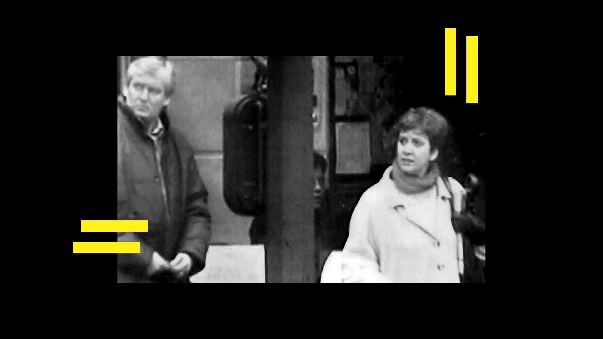 Ilustración de dos de los integrantes del IRA, con quien tenía relación la banda terrorista