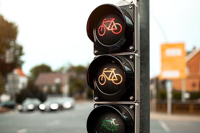 Imagen de un semáforo