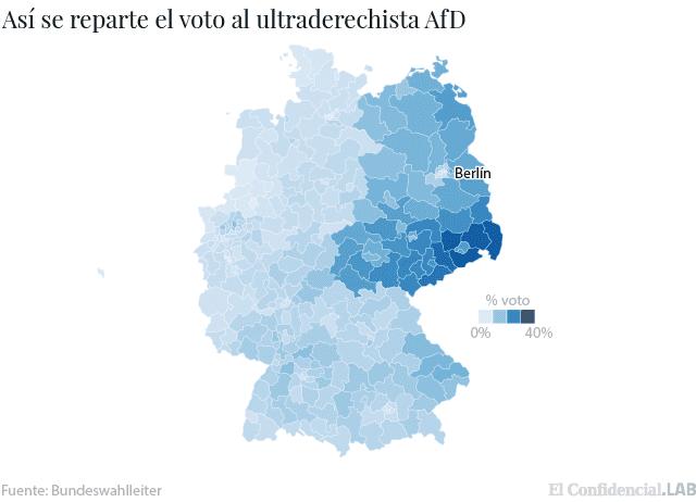Mistificando. Origen del actual nazifascismo en la ex RDA, Alemania del Este.  1506316109-20170925_voto_ultraderecha-01