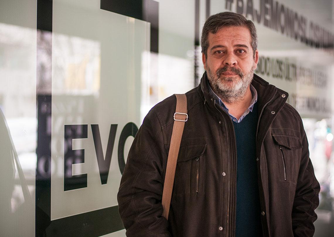 Pedro González, gestor bancario