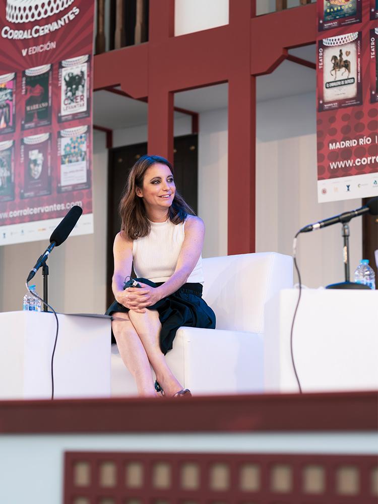 Andrea Levy en el Cervantes