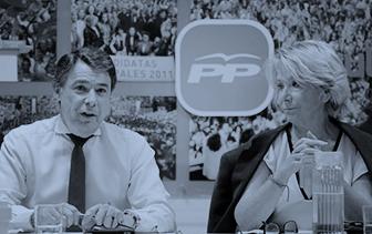 El juez acusa al PP de pagar en B campañas