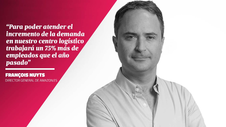 La opinión de François Nuyts - Director General de AMAZON.ES