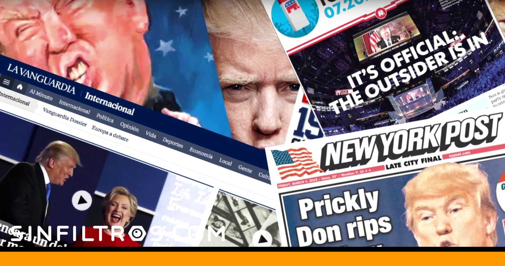 Trump, a careta descubierta