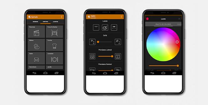 Captura de la app Houseinhand KNX que te ayudará a ahorrar algo de dinero en tu factura de la luz