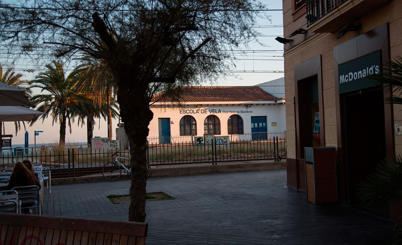 Escola de vela - Club Natació Badalona