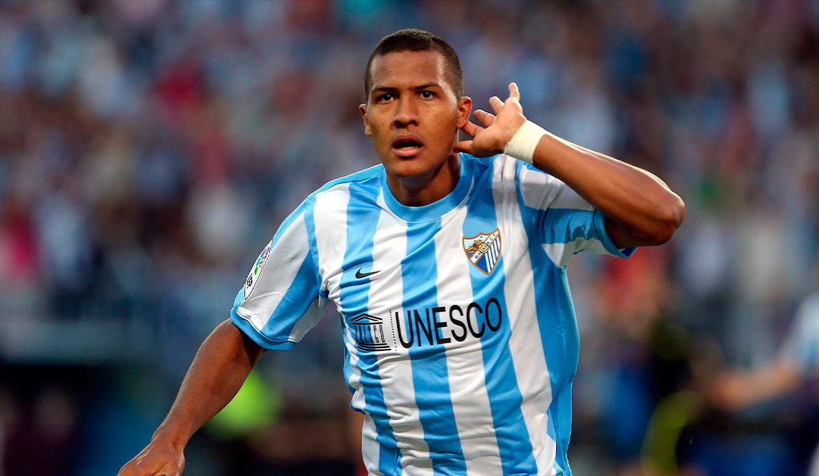 Salomón Rondón clasificó al Málaga CF para la Champions League en 2012